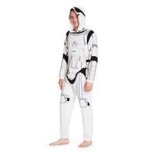 Star Wars Stormtrooper Onesie Costume Pajamas